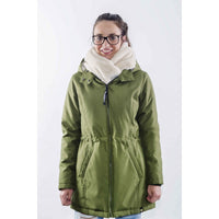 Manteau Wallaby 2.0 Forest Green & Beige