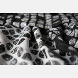 Echarpe Petals Ultra Black White Grey Tencel
