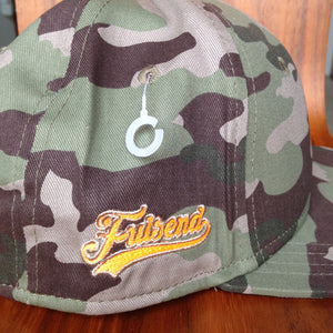 Classic Snapback Camo/Safety Orange