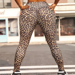 CASABLANCA SETS - LEOPARD LEGGINGS STRETCH SLIM