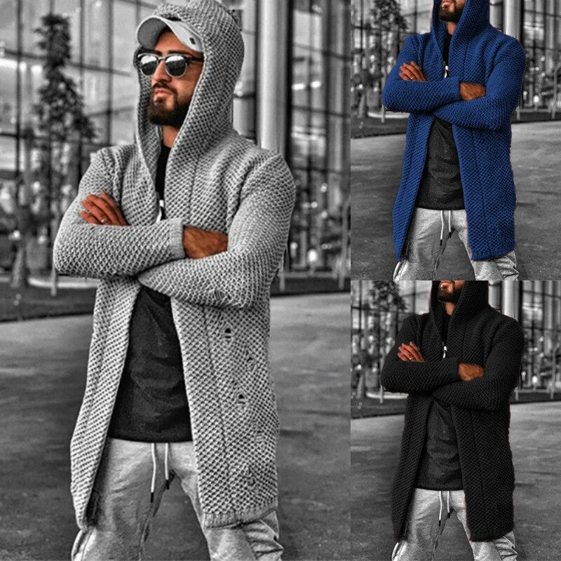 Basilio Hooded Duster