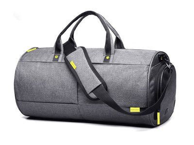 Heather Gray Weekender Nano Bag - Samsara Luggage
