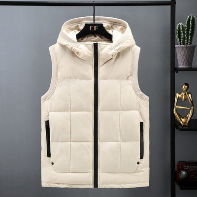 Jordan Hooded Puff Vest