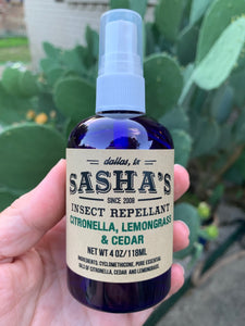 Insect Repel with Pure Essential Oils in Dry Oil Base