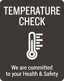 Temperature Check Decal