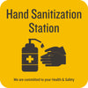 Hand Sanitization Station Wall Graphic