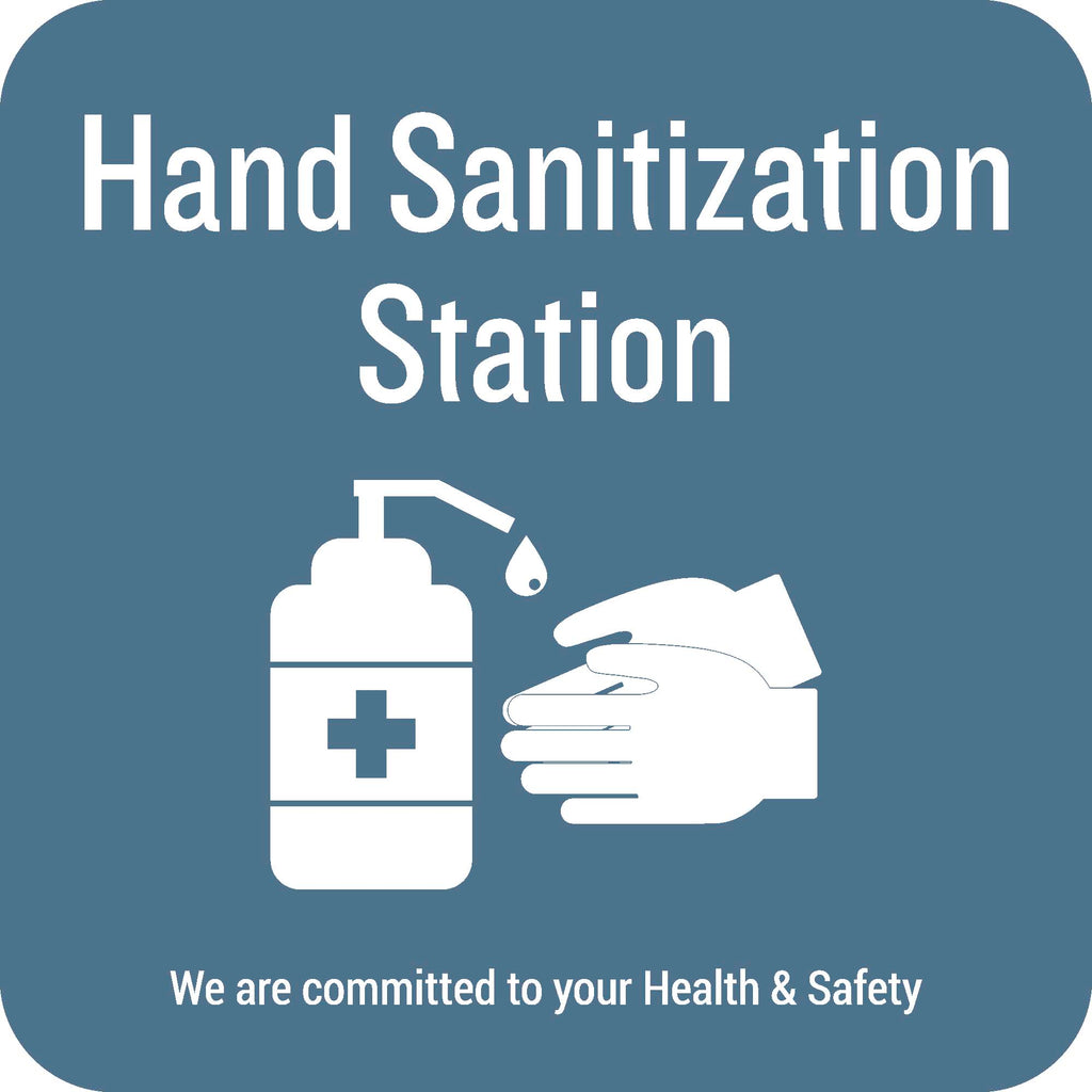 Hand Sanitization Station Decal