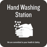 Hand Washing Station Wall Graphic