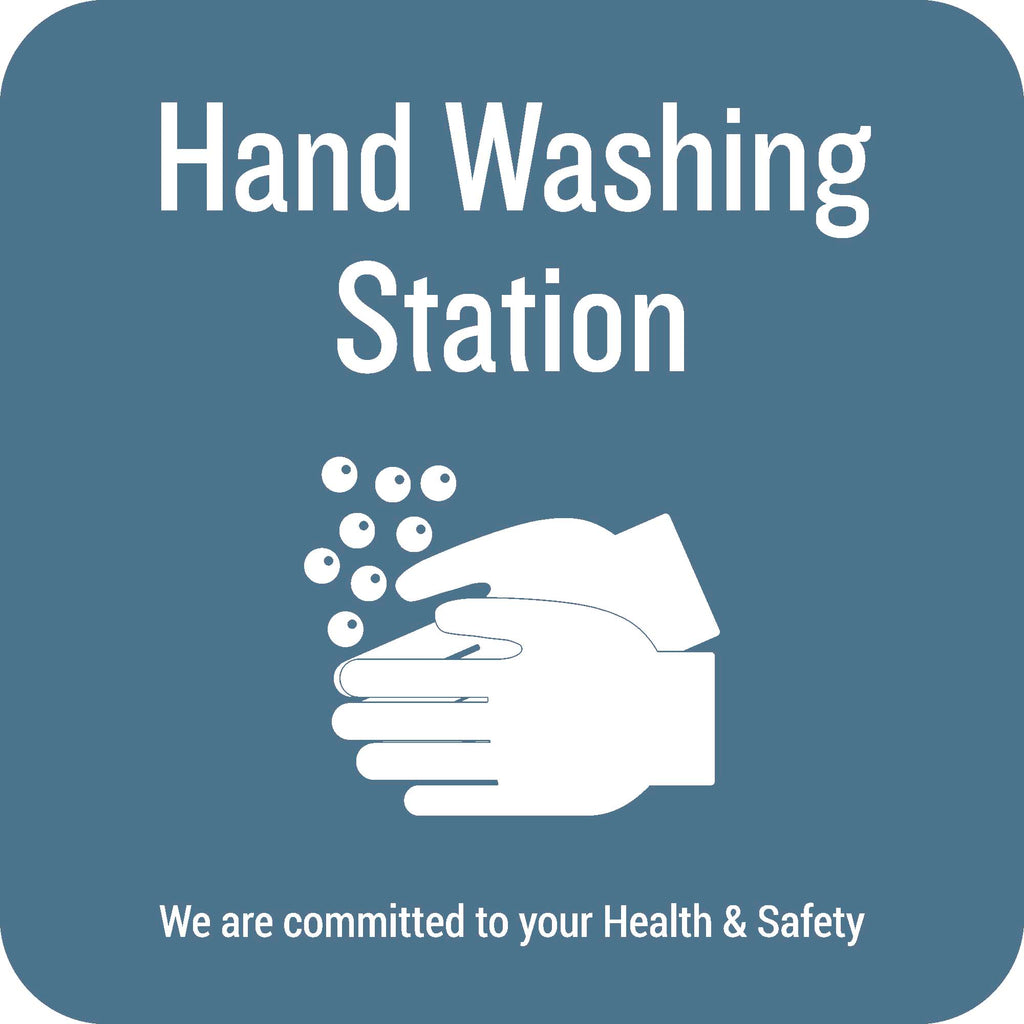 Hand Washing Station Decal