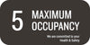 Maximum Occupancy Decal, 5
