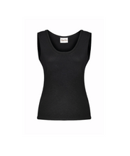 Load image into Gallery viewer, Black Modal Jersey Tank Top