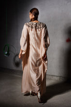 Load image into Gallery viewer, Nude Silk Embroidered Kaftan