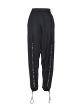 Load image into Gallery viewer, Black Modal Lace Front Seam Pants