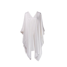 Load image into Gallery viewer, White Modal Soft Pure Cotton Kaftan