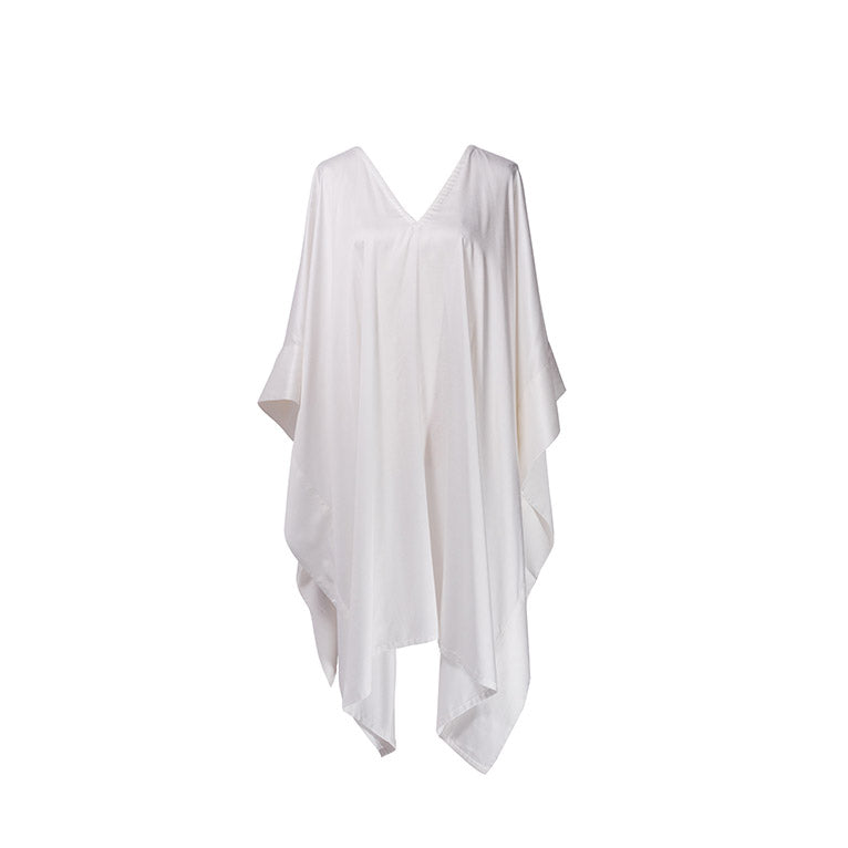 White Modal Soft Pure Cotton Kaftan