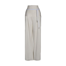 Load image into Gallery viewer, Ivory Modal Jersey High Waist Trouser