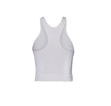 Load image into Gallery viewer, White Modal Jersey Racer Back Tank Top