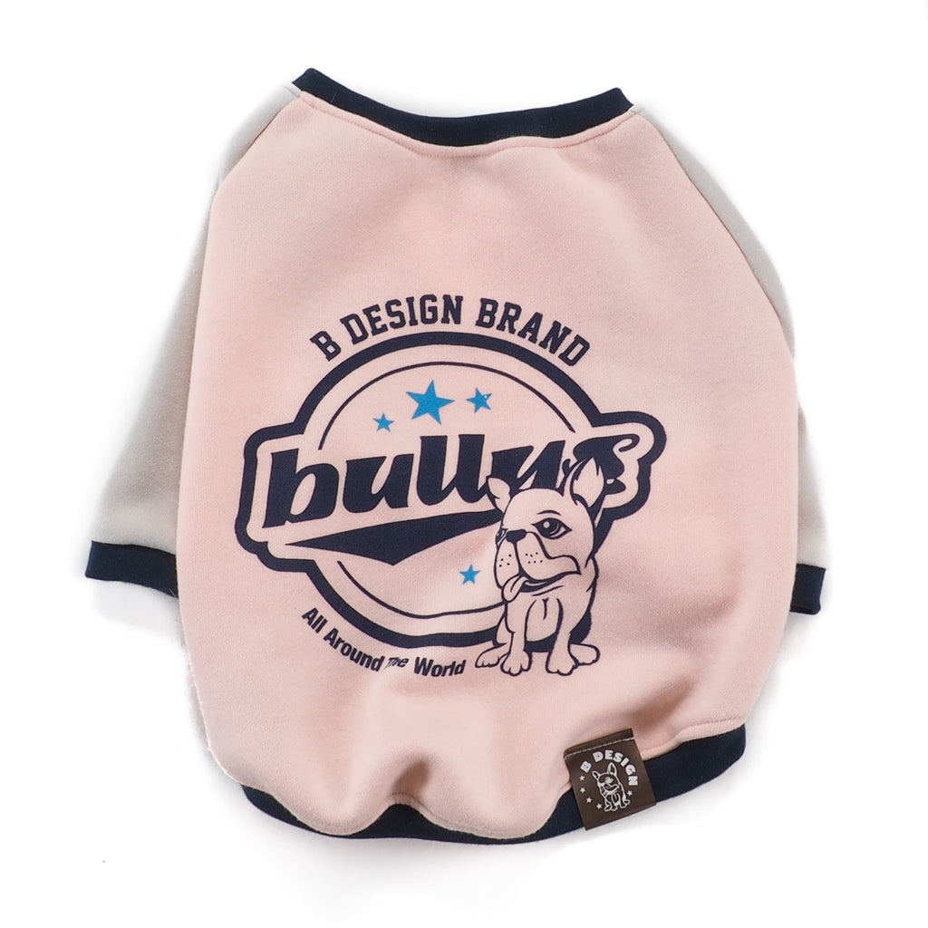 Pink Bullys Graphic Sweater
