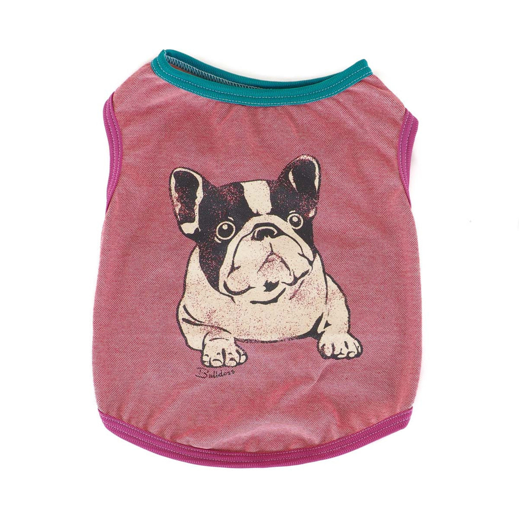 COOL MAX Frenchie Print Tank