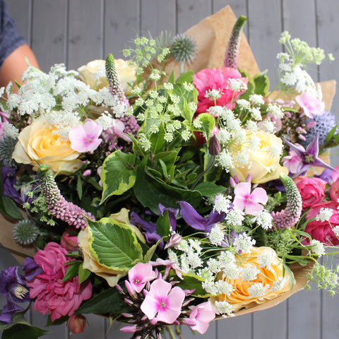 The country garden bouquet