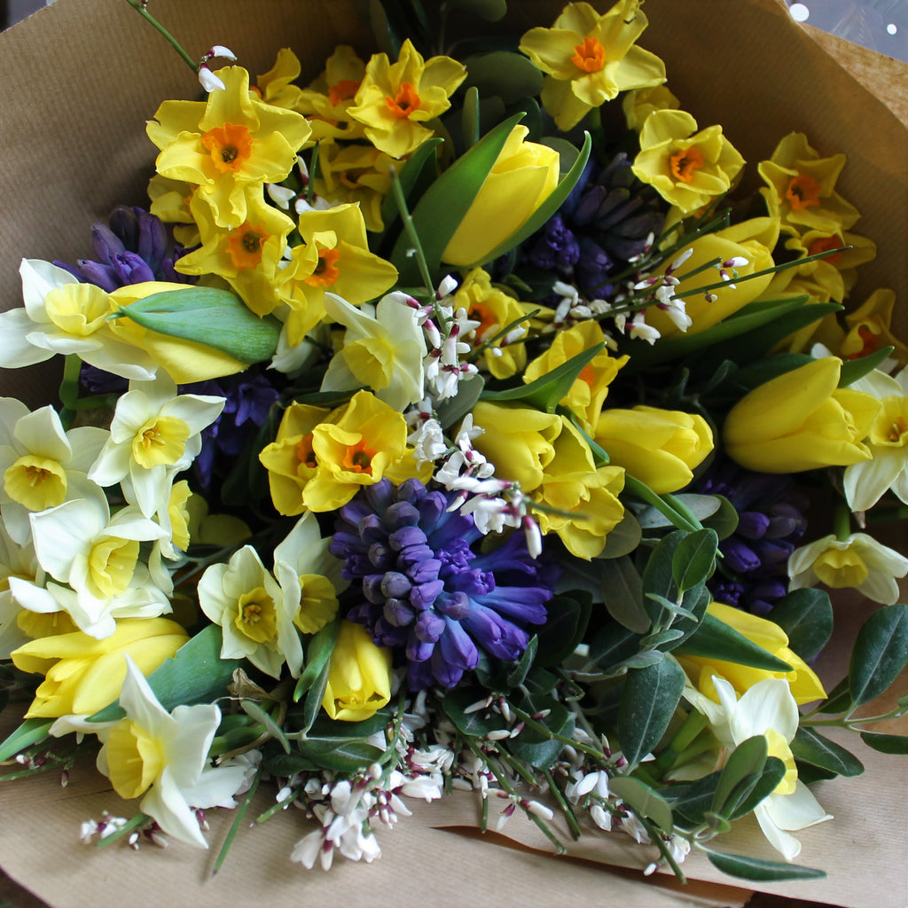 Classic spring posy.