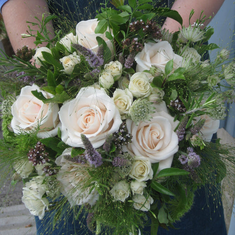 Rose and summer flower pastel Bouquet