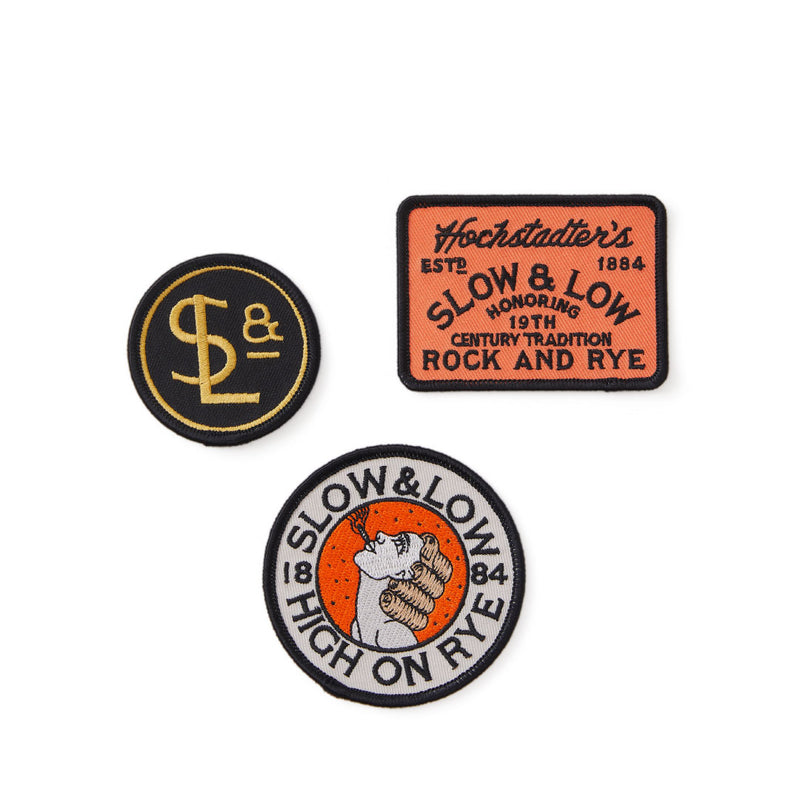 S&L Embroidered Patch 3-pack