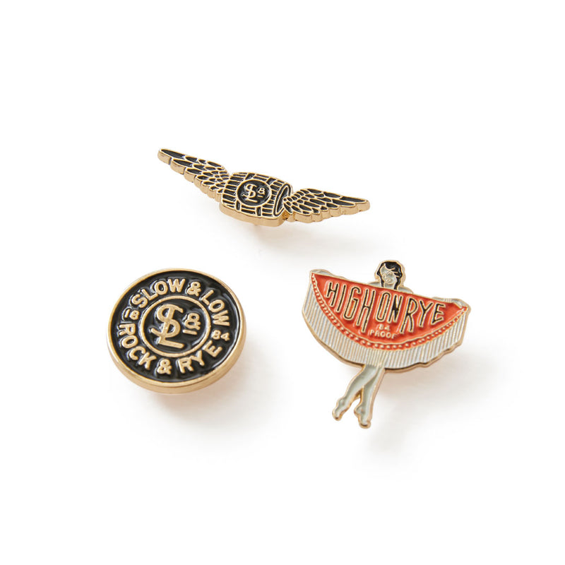 Enamel pin 3-pack