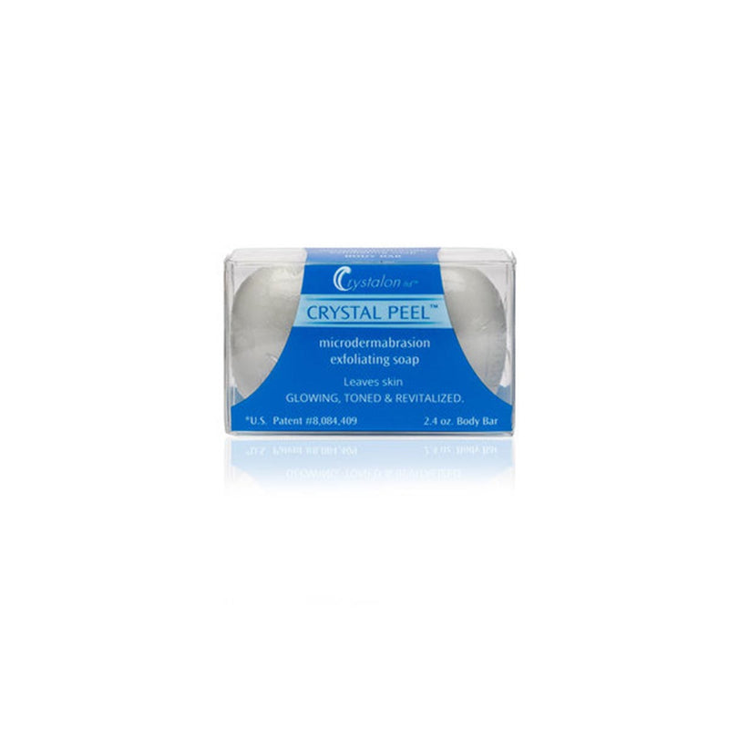 Crystal Peel Microdermabrasion Exfoliating Soap Bar - Travel 2.4 oz
