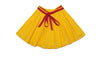 Yellow Short Skirt