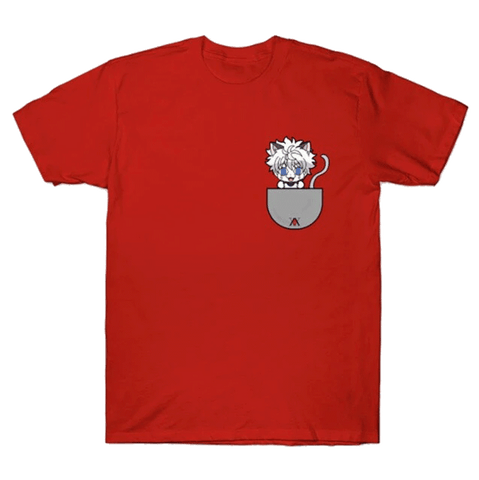 T-Shirt Kirua Chat Rouge