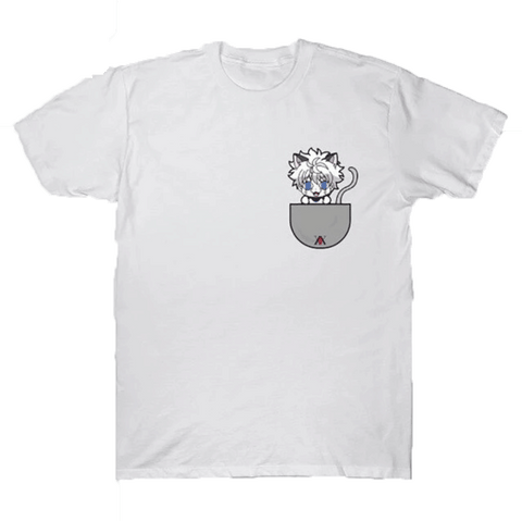 T-Shirt Kirua Chat Blanc