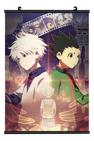 Poster Hunter x Hunter <br /> Coloré