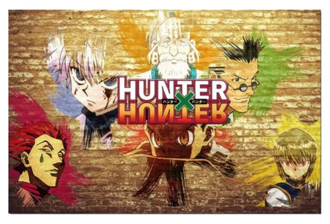 Poster Hunter x Hunter Incrustation