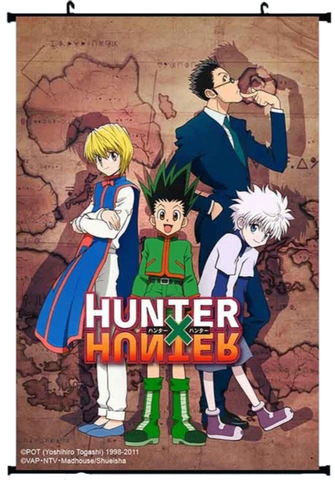 Poster Hunter x Hunter <br /> Map