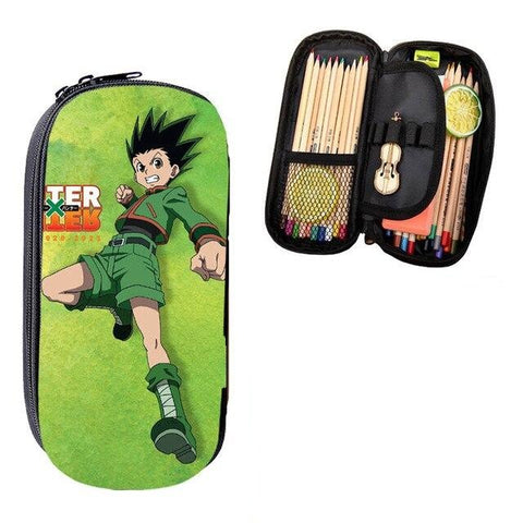 Trousse Hunter x Hunter Verte