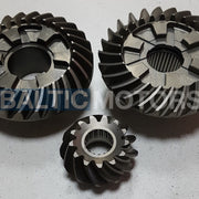Gear set Yamaha 115 / 130 / 140 HP, 6E5-45551-02-00; 6E5-45560-01-00;  6E5-45571-01-00