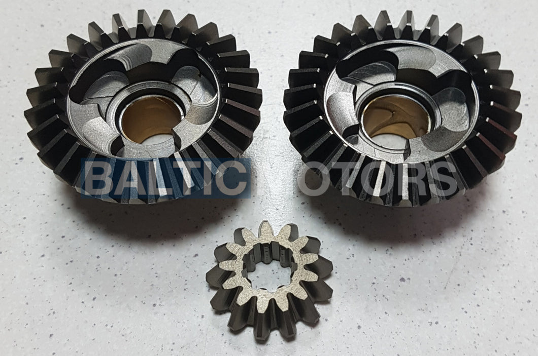 Gear set Yamaha F4 / F5 / 4 / 5 HP,  6E0-45551-00; 6E0-45560-00; 6E0-45570-00
