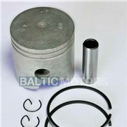Piston kit Yamaha 2 stroke 15 HP 56.5 mm O/S  6E7-11636-00-00