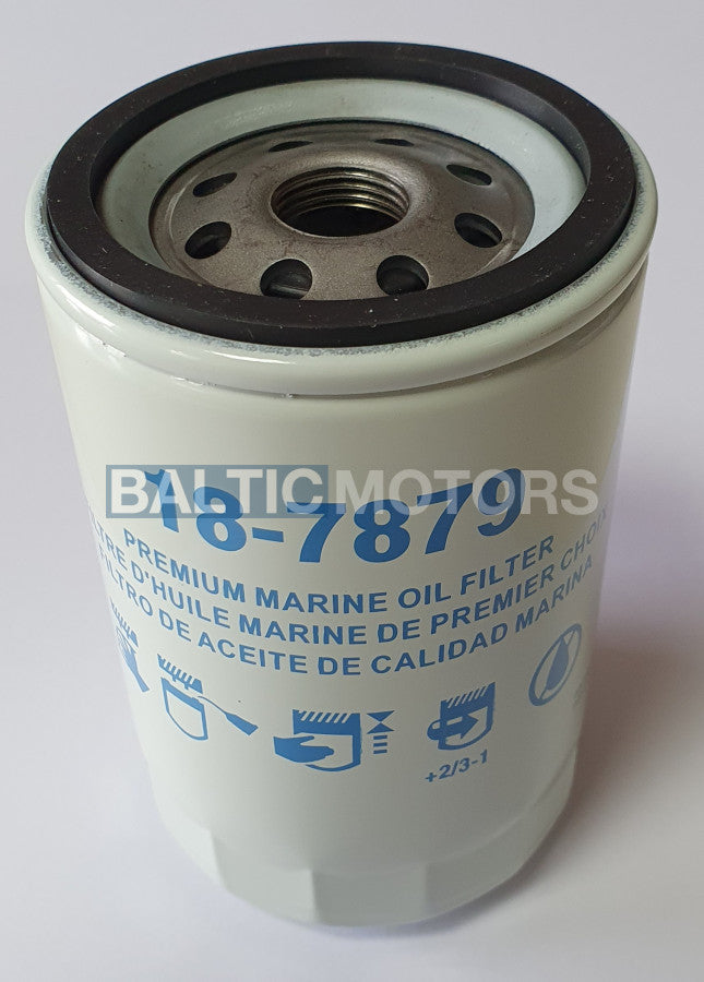 Oil filter MERCRUISER 3.8 4.3 - 18-7879