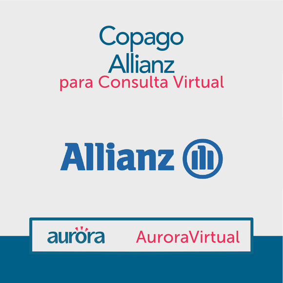 Copago Allianz para consulta virtual