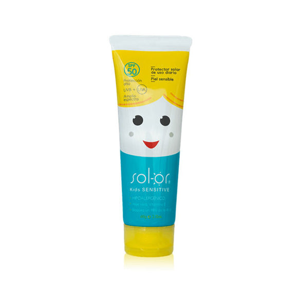 PROTECTOR SOLAR SOL-OR KIDS SENSITIVE SPF 50+ X 100 GR. (SOL-OR)