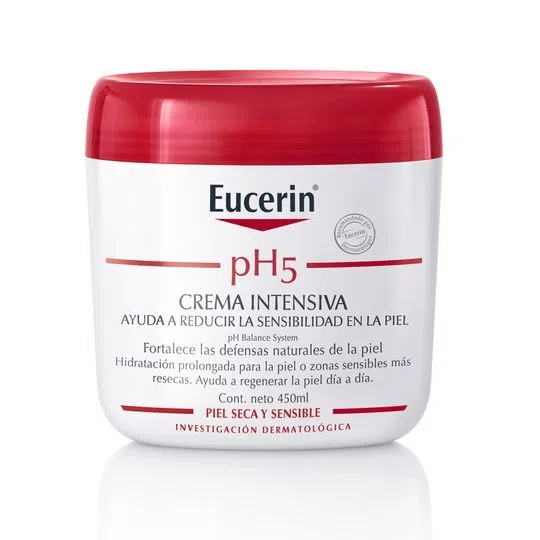 EUCERIN PH5 CREMA INTENSIVA POTE X 450 ML