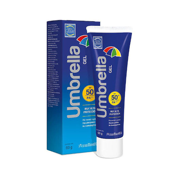 UMBRELLA GEL FPS 50+ X 60 GR. (MEDIHEALTH)