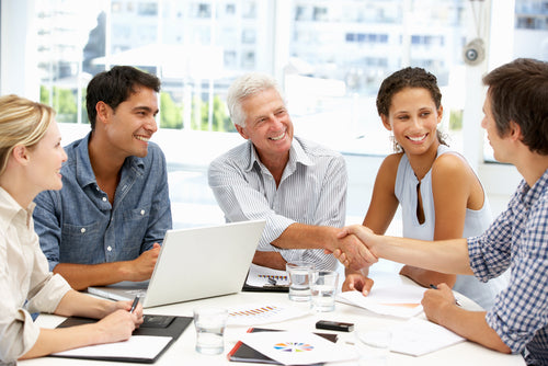 6 Ways to Make Your Cleaning Company Stand Out From the Competition casual business meeting