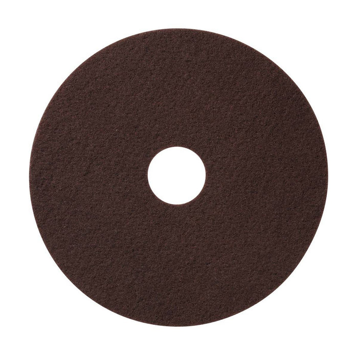 "Americo Maroon Conditioning/Stripping Floor Pads - 17"" (Pack of 10)"