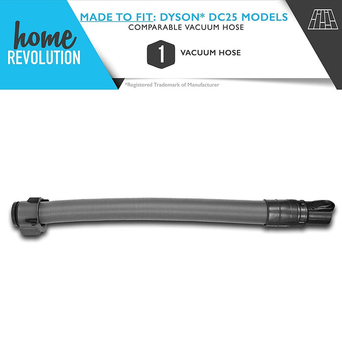 Dyson DC25 Part # 91567701 for Dyson DC25 Models including DC-25 Animal Upright and DC25 Multi Floor, Comparable Vacuum Hoses. A Home Revolution Brand Quality Aftermarket Replacement