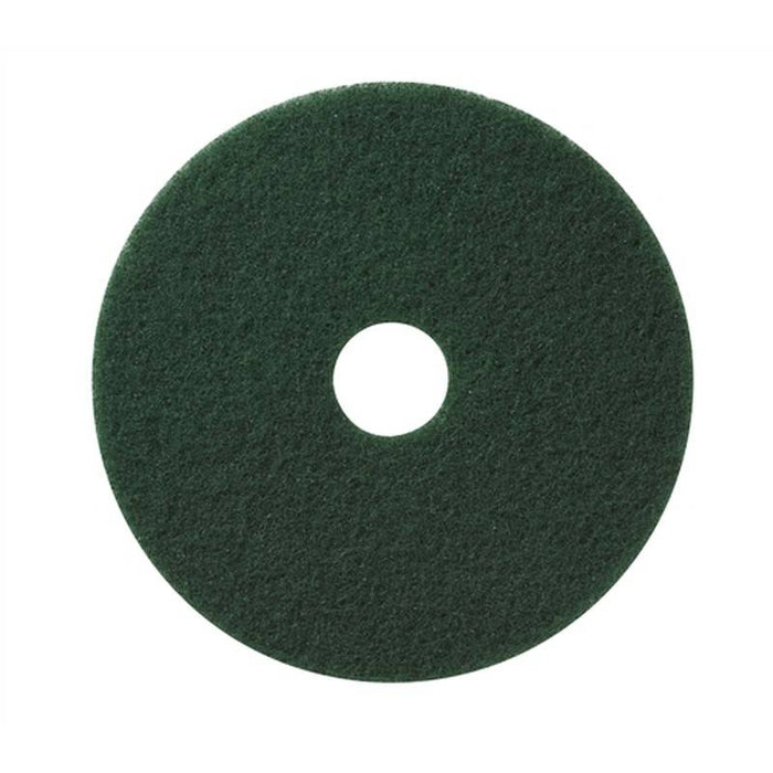 "Americo 19"" Green Scrub Floor Pads (Pack of 5)"