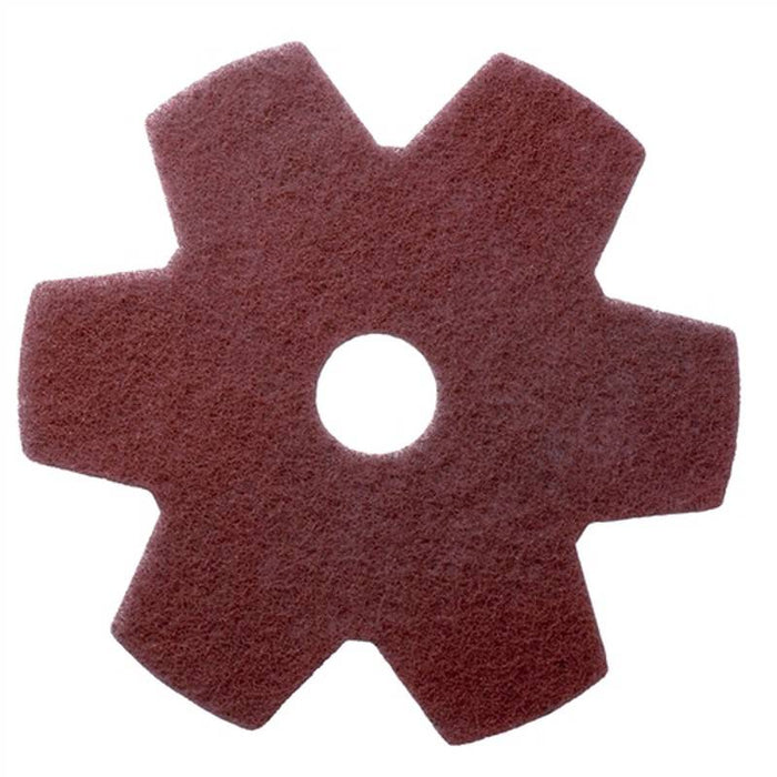 "Americo Twister Hybrid - Star Floor Pads  - 20"" (Pack of 2)"