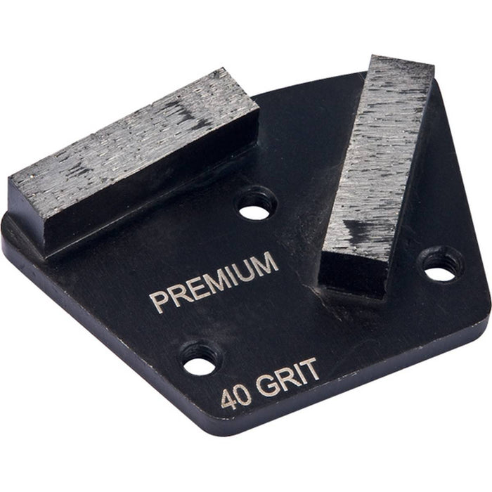 Diamond Productions Polar Premium 2 Segment (3-Hole System) - 150 Grit Medium Bond